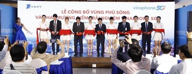 VNPT khai trương điểm trải nghiệm 5G tại TP Hồ Chí Minh