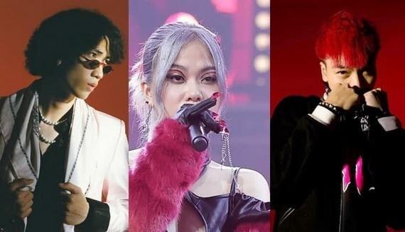 TLinh Gonzo Thành Draw tham gia biểu diễn liveshow Hanoi retro rap xmas party 2020