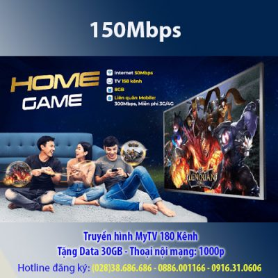 Home Game VNPT 150Mbps