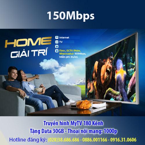 Home giải trí 150mbps VNPT