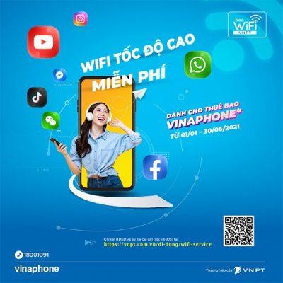 Wifi công cộng của VNPT được triển khai rộng khắp
