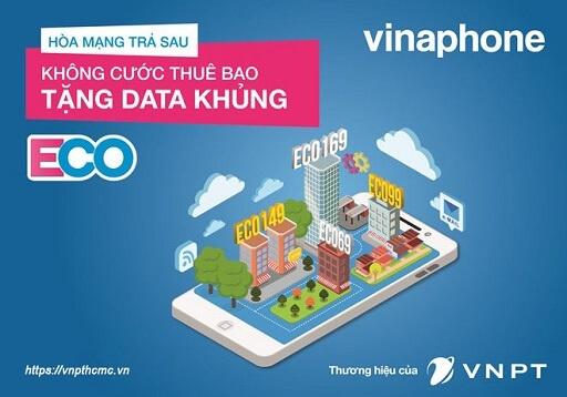Gói cước Eco tiết kiệm của VinaPhone