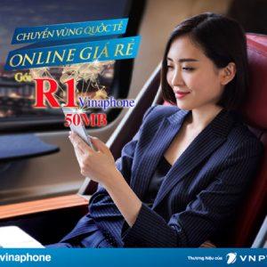 Gói Data Roaming Vinaphone R1 Siêu Rẻ