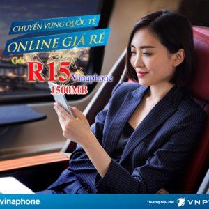 Gói Data Roaming Vinaphone R15 Siêu Rẻ