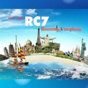 Gói roaming vinaphone data + thoại sms RC7 GIÁ RẺ