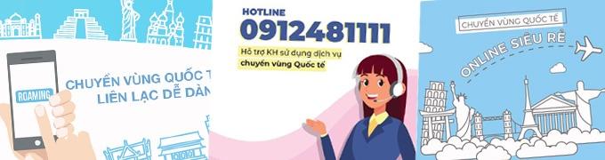 Tổng đài hỗ trợ roaming Vinaphone