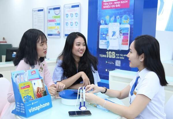 Khách hàng đăng ký thực hiện chuyển mạng giữ số đến VinaPhone