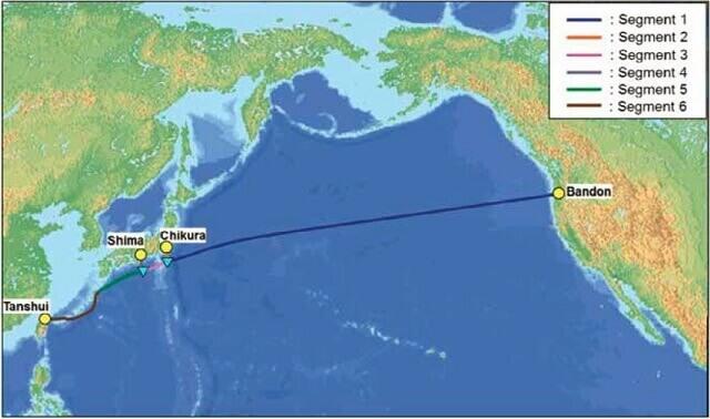 Tuyến cáp quang biển Faster đang được VNPT khai thác sử dụng