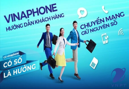 Hướng dẫn khách hàng đăng ký chuyển mạng giữ nguyên số đến VinaPhone