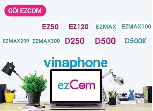 Bảng giá các gói cước 4G Vinaphone ezCom