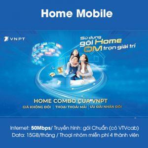Gói Home mobile 50mbps vnpt