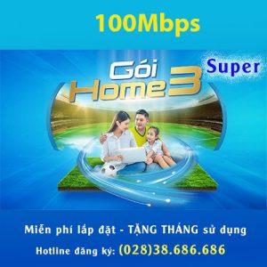 Gói Home 3 VNPT 100MBPS